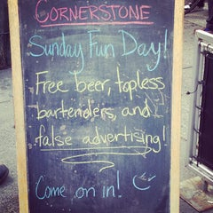 Photo taken at Cornerstone Tavern by Mindy Y. on 4/7/2013