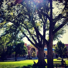 Photo taken at South Oval by University of Oklahoma on 9/11/2012