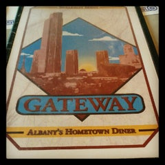Photo taken at Gateway Diner by Scooter C. on 6/1/2012
