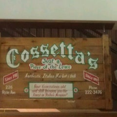 Photo taken at Cossetta's Italian Market & Pizzeria by Jeff G. on 3/14/2013