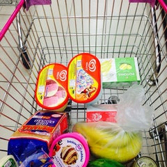 Photo taken at Jusco Grocery Market by Ain Najwa R. on 3/30/2014