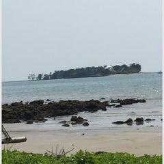 Photo taken at Umang Island Resort by Meita A. on 6/3/2015
