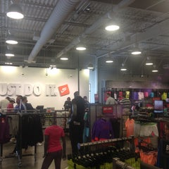 Photo taken at Nike Outlet Store by Victoria M. on 5/10/2015