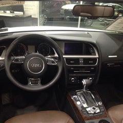 Photo taken at Jack Daniels Audi Paramus by Victoria M. on 11/14/2014