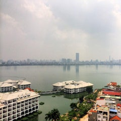 Photo taken at Sheraton Hanoi Hotel by Sebastian N. on 8/27/2015