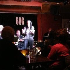Photo taken at 606 Club by Paula L. on 2/24/2013
