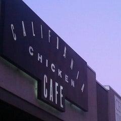 Photo taken at California Chicken Cafe by ChrisLucibello.com R. on 9/20/2011