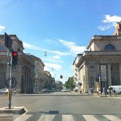Photo taken at Porta Venezia by Lucila d. on 6/24/2013