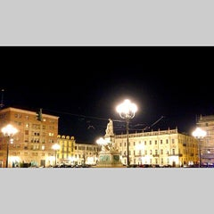 Photo taken at Piazza Carlina by Filippo G. on 2/15/2013