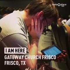 Photo taken at Gateway Church Frisco by Darren E. on 9/8/2013