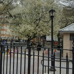 Photo taken at Bleecker Playground by Mary M. on 4/8/2016