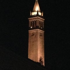 Photo taken at Campanile (Sather Tower) by Billy G. on 11/3/2012