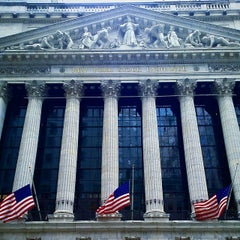 Photo taken at New York Stock Exchange by M.Rêzan - محمد رزان on 1/4/2015