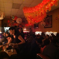 Photo taken at Mission Chinese Food by kim g. on 1/26/2013