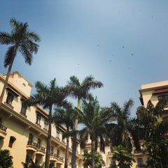 Photo taken at The Oberoi Grand by Hanish M. on 3/8/2013