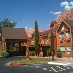 Photo taken at Best Western Zion Park Inn by Denis D. on 6/15/2013