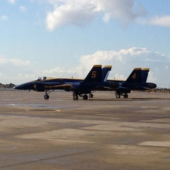 Photo taken at Marine Corps Air Station Miramar by Jeremy K. on 10/12/2012
