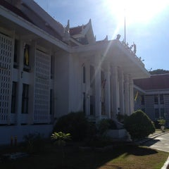 Photo taken at ศาลจังหวัดอยุธยา (Ayutthaya Provincial Court) by Chai C. on 6/3/2014