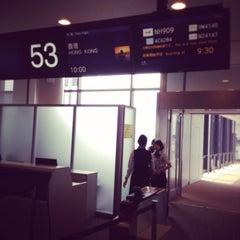 Photo taken at NRT - GATE 53 (Terminal 1) by Kenji H. on 6/17/2014