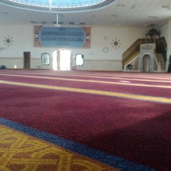 Photo taken at Lakemba Mosque by Arif F. on 9/28/2013