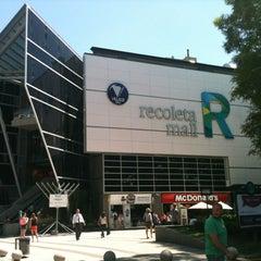 Photo taken at Recoleta Mall by Gabriela M. on 12/13/2012