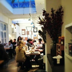 Photo taken at Store Street Espresso by Mulia on 1/5/2013