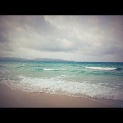 Photo taken at White Beach by Allan S. on 9/29/2012