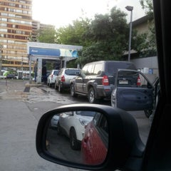 Photo taken at Petrobras by Daniela G. on 11/12/2012