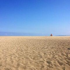 Photo taken at Urbiztondo Beach by Earl E. on 4/3/2015