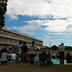 Photo taken at 阿見町立 本郷小学校 by Kazuyo S. on 9/29/2012