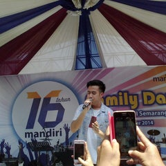 Photo taken at Mandiri by silviadya on 11/2/2014