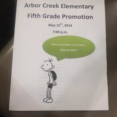 Photo taken at Arbor Creek Elementary by Lisa J. on 5/15/2014