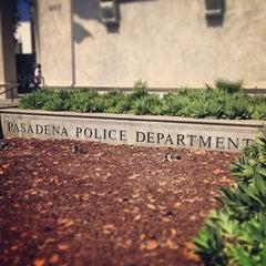 Photo taken at Pasadena Police Dept by James S. on 5/30/2013