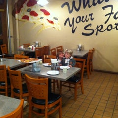 Photo taken at Spot A Pizza Place by Tim D. on 11/11/2012