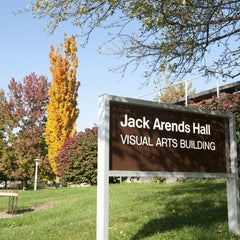 Photo taken at Visual Arts Building (Jack Arends Hall) by Northern Illinois University on 5/22/2014