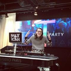 Photo taken at Studio Paris Nightclub by Ari B. on 12/9/2012