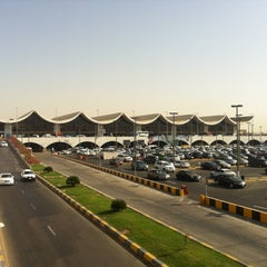Photo taken at King Abdulaziz International Airport (JED) مطار الملك عبدالعزيز الدولي by Utkan G. on 5/1/2013