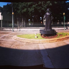 Photo taken at Queen Liliʻuokalani Statue by Christopher S. on 4/16/2013