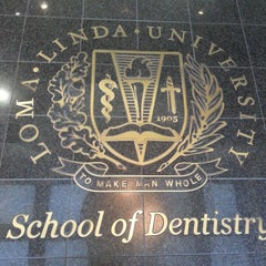 Photo taken at Loma Linda University School of Dentistry by Darrell S. on 4/11/2014