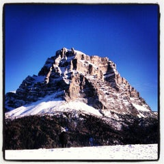 Photo taken at Pian Di Alleghe by Pietro R. on 12/30/2012