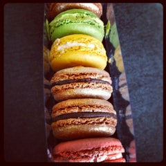 Photo taken at MacarOn Café by Lilly L. on 12/21/2012