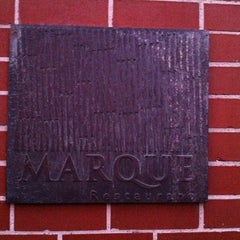 Photo taken at Marque Restaurant by David W. on 10/17/2013