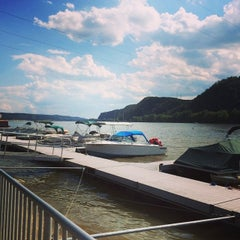 Photo taken at Shikellamy State Park Marina by Hassan S. on 6/22/2014
