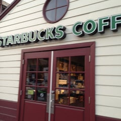 Photo taken at Starbucks by Christina M. on 9/14/2013