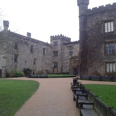 Photo taken at Towneley Hall by keith c. on 1/5/2014
