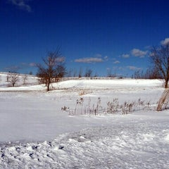 Photo taken at Freshkills Park by Julie on 12/16/2013