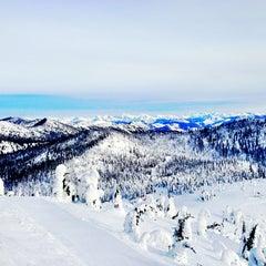 Photo taken at Whitefish Mountain Resort by Emily L. on 2/14/2013