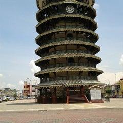 Photo taken at Menara Condong (Leaning Tower) by Angah Mpv on 10/12/2012
