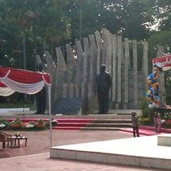 Photo taken at Tugu Proklamasi (Proclamation Monument) by Rizky N. on 11/21/2012