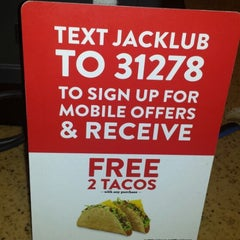 Photo taken at Jack in the Box by Adam M. on 1/24/2014